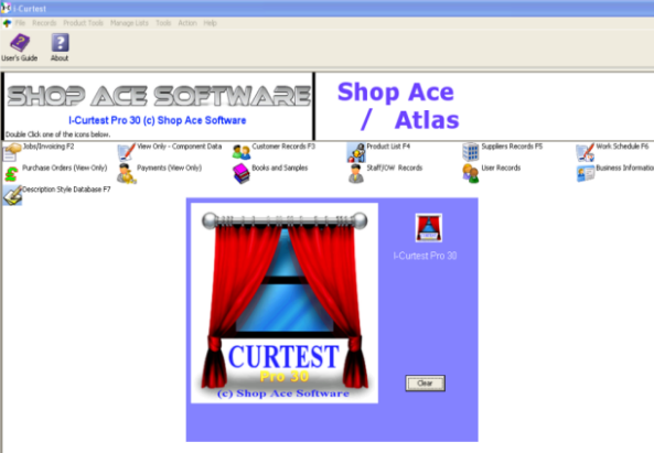 I curtest curtain and blinds estimating software mysql for Curtain creator software